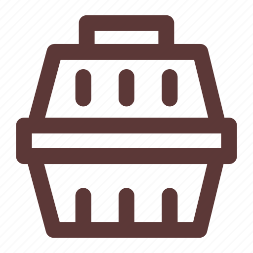 Box, cage, carrier, cat, kennel, pet, pet carrier icon - Download on Iconfinder