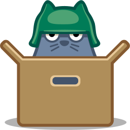 box, cat icon