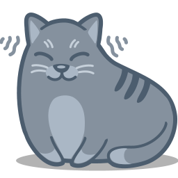 cat, purr icon