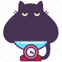 astrology, cat, feline, horoscope, libra, scales, zodiac icon