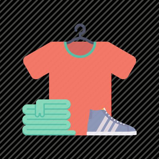 beauty, cloth, fashion, shoes, towel, tshirt icon