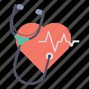 care, checkup, heart, heartbeat, medical, pulse, stethoscope