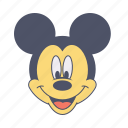 cartoon, enjoy, fun, mickey, mouse icon