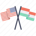 contry, flag, india, proud, states, unites, usa icon
