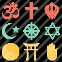 faith, hindu, pray, prayer, religion, trust icon