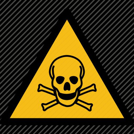 Dangerous Skull Skull Clipart Danger Sign Bone PNG