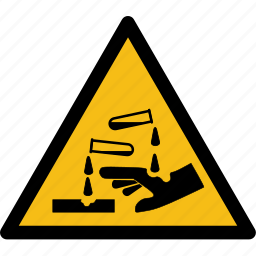 corrosive, danger, liquid, protect, protection, safety, shield icon