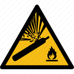 bomb, danger, explosion, gas, liquid, petrol, station icon