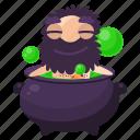 bath, cave, emoji, emoticon, man, sticker icon