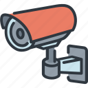 camera, cctv, safety, security, system, technology, video icon