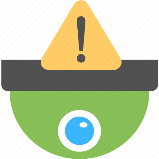 cctv surveillance, cctv warning, cctv warning alarm, monitoring, security system icon