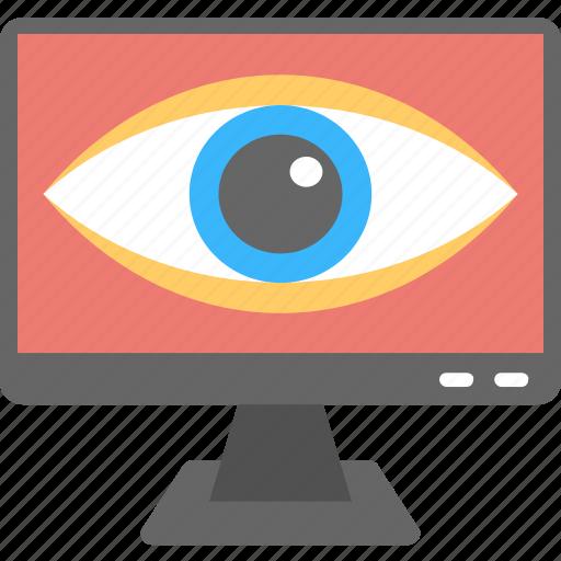 cctv, cctv footage, remote monitoring, security control, software icon