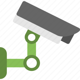 cctv, digital security, security camera, surveillance, wall mounted icon
