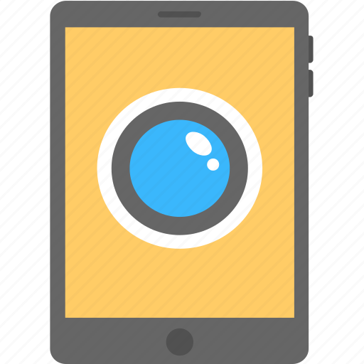 app, monitoring, remotely viewing, smartphone, surveillance system icon