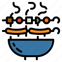 bbq, birthday, food, grill, party icon