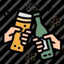 alcohol, beer, bottom, drink, mug