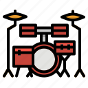brand, drum, music, percussion, singer icon