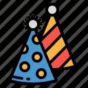 birthday, celebration, fun, hat, party