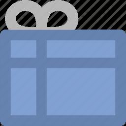 christmas gift, gift, gift box, present, present box, wrapped gift icon