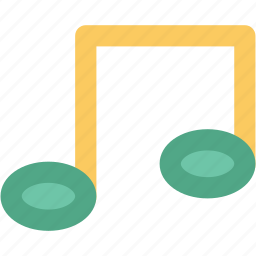 music, music note, note, quaver, songs icon