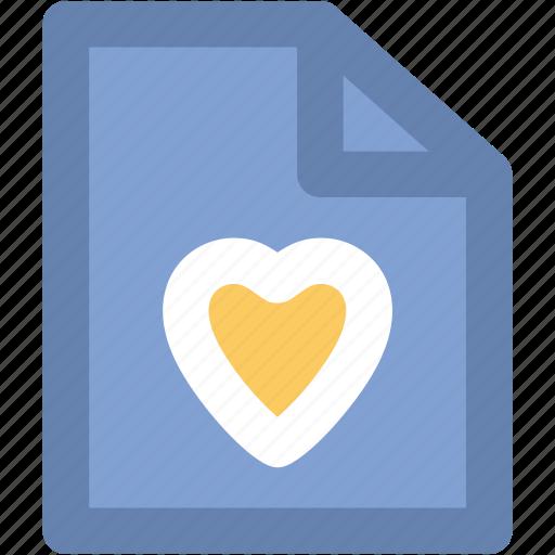 heart, letter, love letter, valentine greeting icon