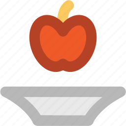 apple, food, fruit, healthy food, nutrition, red fruit icon