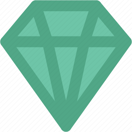 crystal stone, diamond, gem, gemstone, jewel, precious stone icon