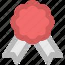achievement, award medal, medal, prize, reward ribbon, ribbon badge