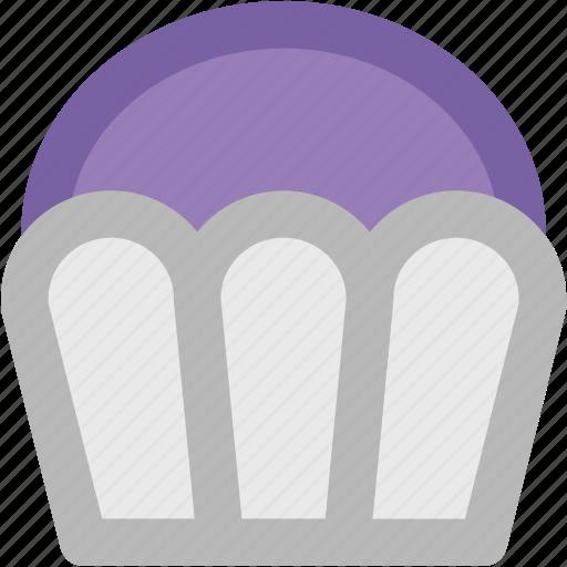 bakery food, birthday cupcake, cupcake, dessert, fairy cake, muffin icon