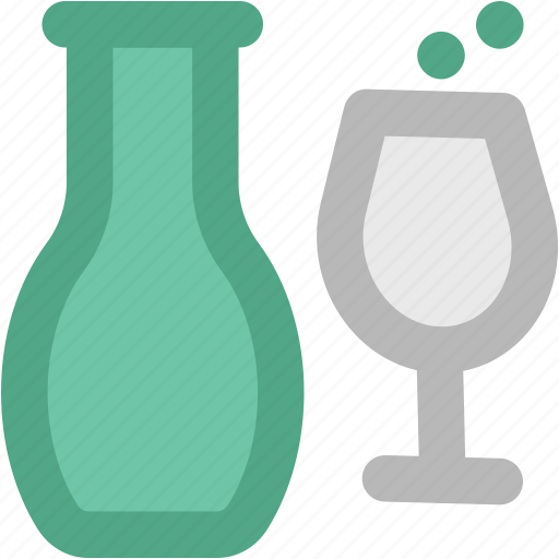 Alcohol, champagne bottle, drink, drink bottle, glass, wine, wine bottle icon - Download on Iconfinder