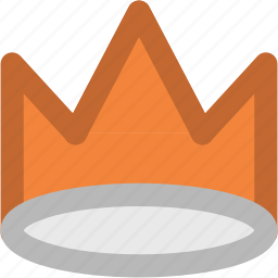 crown, headgear, king, nobility, prince, queen, royal icon