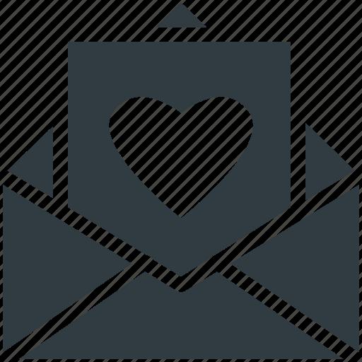 Letter, love greeting, love letter, valentine card, valentine greeting icon - Download on Iconfinder