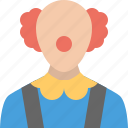 carnival, circus, clown, halloween, joker, joker face, party icon