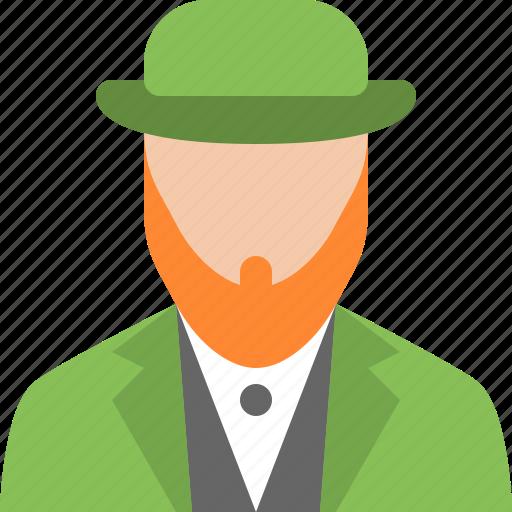 Leprechaun, hat, holiday, irish, saint, shamrock icon - Download on Iconfinder