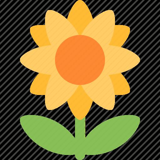 Sunflower, bloom, flower, garden, nature, plant, spring icon - Download on Iconfinder