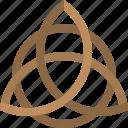 triquetra, celtic, knot, trinity