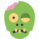 dead, halloween, horror, monster, scary, zombie icon