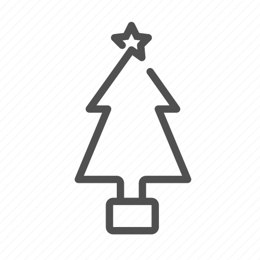 celebration, christmas, christmas tree, star, tree icon