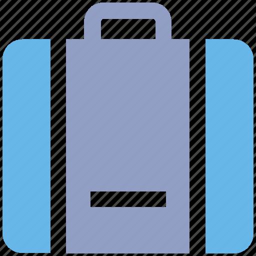 bag, case, office bag, suit case, tourist icon