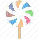 candy, candy stick, confectionery, lollipop, lolly, sweet, sweet snack icon
