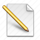 edit, pen icon