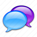 bubble, bubbles, chat, communication, imessage, message, messages icon