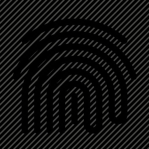 Biometric, fingerprint, scurity, ui, unlock icon - Download on Iconfinder