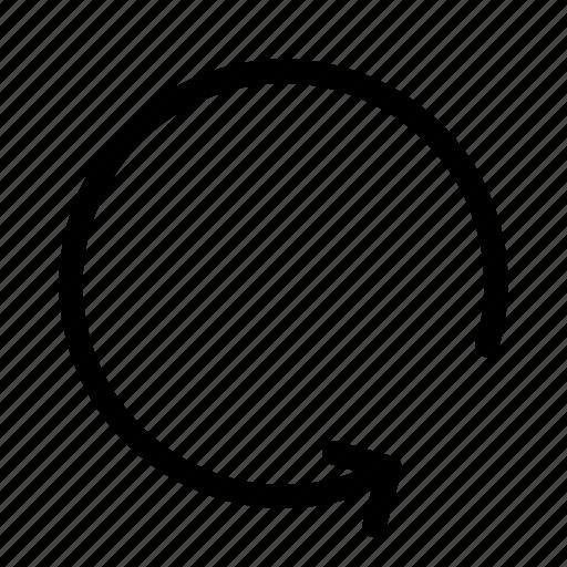 circle, load, refresh, reload, ui icon