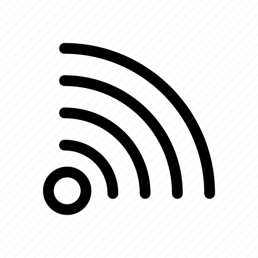 hotspot, services, signal, wave, wifi icon