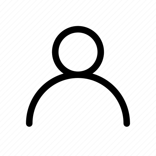 account, people, profile, ui, user icon