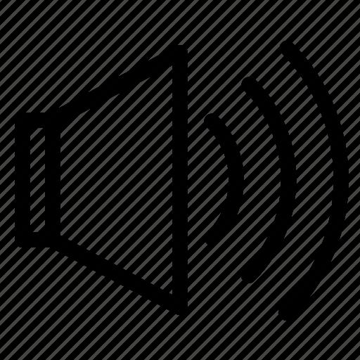 audio, ring, speaker, ui, volume icon
