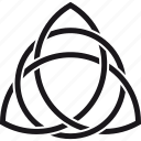 celtic, endless, infinity, knot, religion, spirituality, triquetra