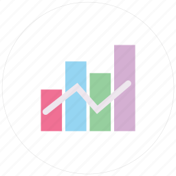 analytics, bar, business, chart, charts, diagram, finance, financial, graph, graphs, pie, report, statistics icon