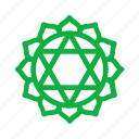 symbols, meditation, anahata, chakra, yoga, spiritual